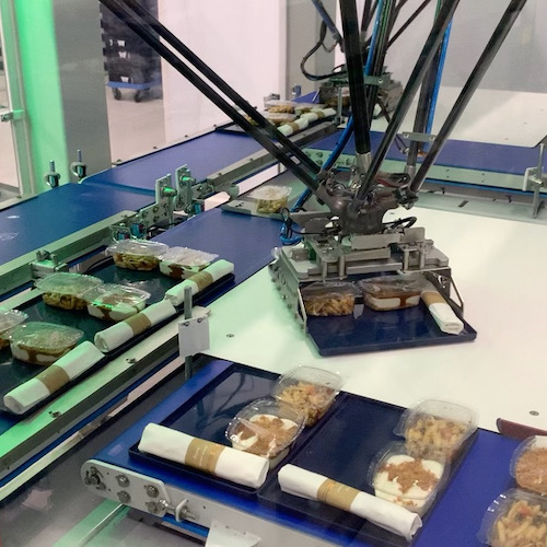 Devion builds an automatic catering assembly line